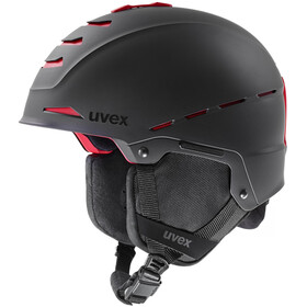 UVEX Legend Pro Casco, black-red mat